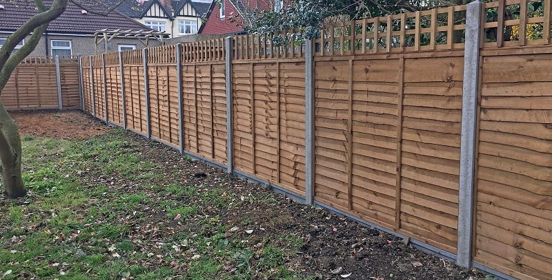 Wooden Garden Fencing Ideas Panels