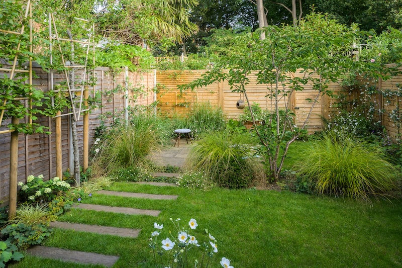 contemporary garden design ideas steps